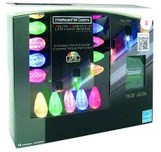 ge led christmas lights light show c9 led christmas lights strings the jolly shop symphony of color