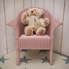 Childrens Armchair Uk Buy Lloyd Loom Classic Child U0027s Armchair Pink Genuine Lloyd