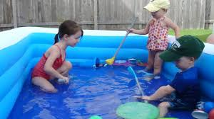 kids in the backyard pool youtube