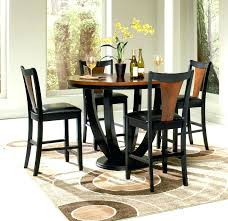 black counter height table set counter height table and chairs 5 piece counter height dining set