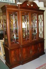 antique 18c french country china hutch bookcase china country