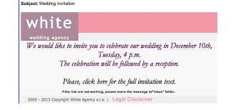 wedding invitations email wedding invitation on email wedding invitation malware emails best