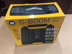 Rugged Boombox Portable Stereos Boomboxes G Project G Boom Wireless Bluetooth