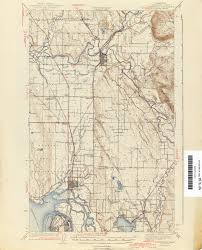 Wa Map Washington Historical Topographic Maps Perry Castañeda Map