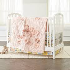 Next Crib Bedding Blooming Floral Crib Bedding Crate And Barrel
