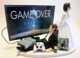 gamer cake topper xbox one gamer wedding cake topper