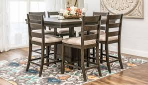 Dining Room Table Counter Height by Tulip Counter Height Table Home Zone Furniture Dining Room