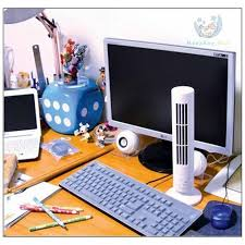 Desk Tower Fan Usb Tower Fan With Powerbank Price In Pakistan At Symbios Pk