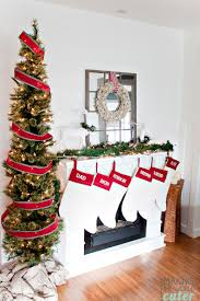 christmas mantel christmas mantel decor