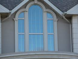 granite arched home window design ideas exterior home window