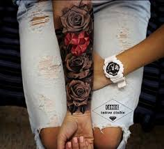 418 best floral tattoos images on floral tattoos
