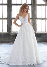 fit and flare wedding dress wedding dresses bridal gowns morilee