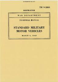 catalogus paperprint wwii military vehicle manuals