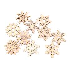 aliexpress buy 10pcs assorted tree ornament wooden