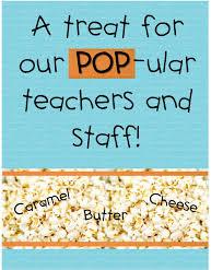 halloween popcorn gifts strong armor teacher appreciation donuts popcorn dips
