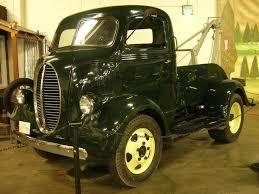 Classic Ford Truck 1940 - dieselpunk steampunk art 1940 ford coe tow truck dieselpunks