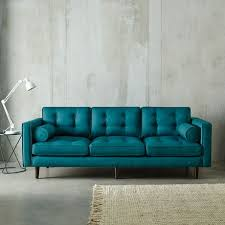 Blue Sofas And Loveseats Best 25 Teal Sofa Ideas On Pinterest Teal Sofa Inspiration