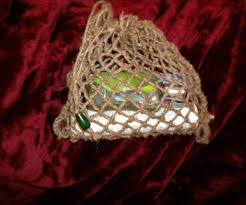 How To Make A Chair Hammock Make Your Own Net Bag 6 Steps With Pictures