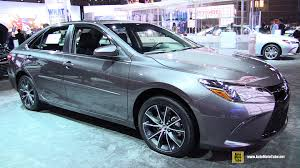 2015 Camry Interior 2015 Toyota Camry Xse Exterior And Interior Walkaround 2014 La
