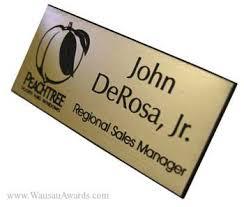 gold name tag name badges name tags