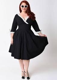 cute plus size retro dresses for sale 1950s style unique