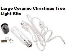 ceramic christmas tree light kit light kits and bulbs art glass ceramics supplies