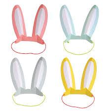 meri meri rabbit bright bunny ears by meri meri the original party bag company