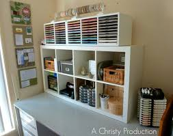 Diy Craft Desk With Storage Storage Crafting Table And Storage With Craft Desk And Storage