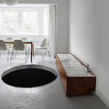 optical illusion floor rugs that look like giant gaping holes