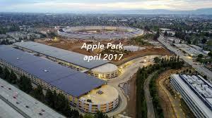 apple park apple campus 2 april 2017 update 4k youtube