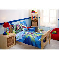 Little Mermaid Toddler Bedding Toy Story Power Up 4 Piece Toddler Bedding Set Walmart Com
