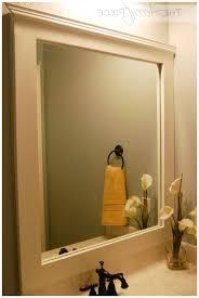 bathroom mirror trim ideas diy frame diy mirror frame ideas amazing bathroom frames photo vevip