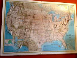 The Map Of Usa by Rya Byrdcall Studio