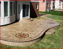 Decorative Concrete Patio Contractor Stamped Concrete Patios Cement Exposed Aggregate Concrete Driveway