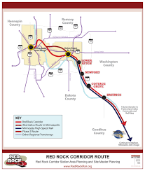 Red Line Chicago Map by Transitway Corridor Planning Washington County Mn Official
