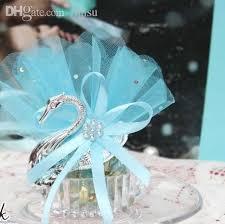 swan wedding 2017 wholesale swan wedding favor box with accessory