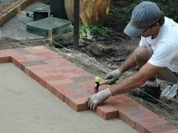 Concrete Paver Patio Designs by Patio How To Make A Brick Patio Home Designs Ideas