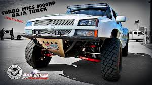 chevy baja truck street legal turbo mics 1000hp chevy silverado baja truck ls1 truck shootout