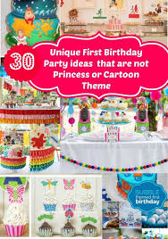 1st birthday themes for no princess themed unique birthday party ideas for