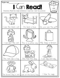teaching a child to read worksheets worksheets