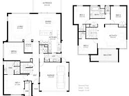 farmhouse plans two story design homes