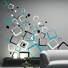 wall designs multiplex square wall decals trendy wall designs