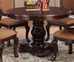 Round Cherry Kitchen Table by Dining Room Dining Table Page 1 One Perfect Choice