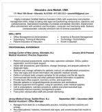 Cma Resume Sample by Professional Summary Resume Sample With Skill Highlights For