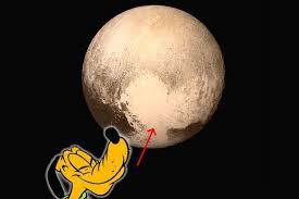 pluto pluto disney dog dwarf planet strange