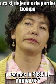 Rosa De Guadalupe Meme - has sentido el aire de la rosa de guadalupe univision