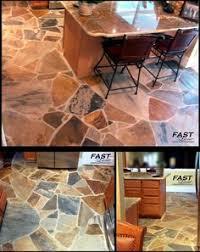 indoor flagstone flooring home stuff ideas