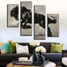 online buy wholesale black horse painting from china black horse