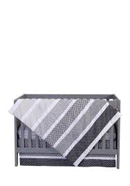 Belks Bedding Sets Trend Lab Ombre Gray 3 Piece Crib Bedding Set Belk