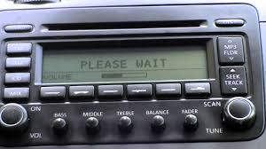 vw jetta 2005 radio cdc hardware error vw jetta 2 5 start up